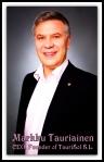 Smiling CEO Markku Tauriainen