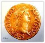 Gold Coin Nero Rome