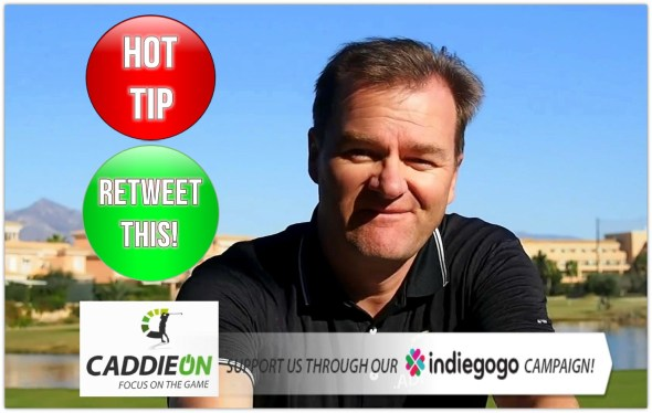 CaddieOn Tuomo Lalli Telling The Hot Tip